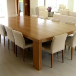 table and chairs custom joinery